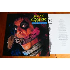 ALICE COOPER - CONSTRICTOR LP - Nr MINT A1/B1 UK