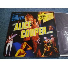 ALICE COOPER - THE ALICE COOPER SHOW Live LP - Nr MINT A2/B2