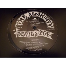 """THE ALMIGHTY - DEVILS TOY Promo 12"""" - Nr MINT 1991 HEAVY METAL"""