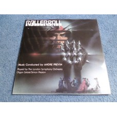 ANDRE PREVIN - ROLLERBALL soundtrack LP - Nr MINT A3/B3 UK Porky
