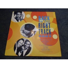 VARIOUS - BACK ON THE RIGHT TRACK BABY LP - Nr MINT A1/B1 SOUL KENT RECORDS