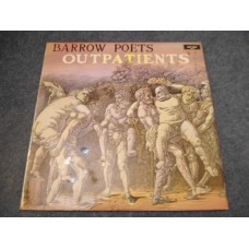 BARROW POETS - OUTPATIENTS LP - Nr MINT UK FOLK
