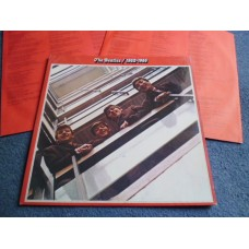 THE BEATLES - 1962/66 2LP RED ALBUM - Nr MINT UK
