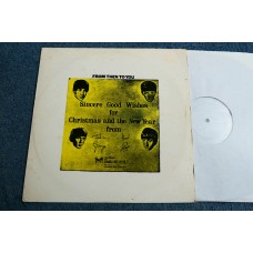 THE BEATLES - FROM THEN TO YOU LP - Nr MINT BEATLES CHRISTMAS RECORD 1970