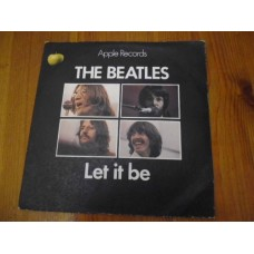 """THE BEATLES - LET IT BE / YOU KNOW MY NAME 7"""" - Nr MINT/EXC+ ORIG PICTURE SLEEVE 1970"""