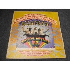 THE BEATLES - MAGICAL MYSTERY TOUR LP + BOOK - EXC/VG+