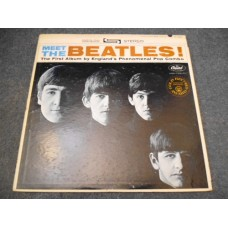 THE BEATLES - MEET THE BEATLES! LP - EXC+ LENNON McCARTNEY