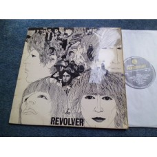 THE BEATLES - REVOLVER LP - VG MONO 2nd PRESS UK