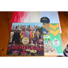 THE BEATLES - SGT PEPPERS LONELY HEARTS CLUB BAND LP - Nr MINT FIRST PRESS WIDE SPINE UK MONO with INNER SLEEVE