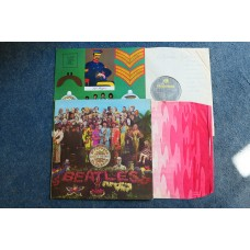 THE BEATLES - SGT PEPPERS LONELY HEARTS CLUB BAND LP - Nr MINT/EXC+ FIRST PRESS UK MONO with INNER SLEEVE