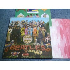 THE BEATLES - SGT PEPPERS LONELY HEARTS CLUB BAND LP - Nr MINT FIRST PRESS UK MONO