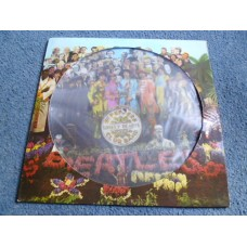 THE BEATLES - SGT PEPPERS LONELY HEARTS CLUB BAND Picture Disc LP - Nr MINT STEREO