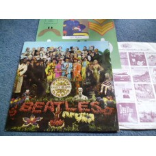 THE BEATLES - SGT PEPPERS LONELY HEARTS CLUB BAND LP - Nr MINT THIRD PRESS UK STEREO