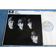 THE BEATLES - WITH THE BEATLES LP - EXC+ UK MONO  LENNON McCARTNEY