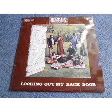 BEST OF BRITISH - LOOKING OUT MY BACK DOOR LP - Nr MINT A1/B1 UK FOLK