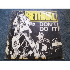 "BETHNAL - DON'T DO IT 12"" - VG+ UK  PUNK 1978"