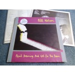 BILL NELSON - QUIT DREAMING AND GET ON THE BEAM 2LP - Nr MINT UK  INDIE ELECTRONICA
