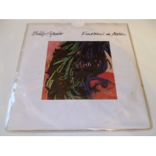 "BILLY SQUIER - EMOTIONS IN MOTION 7"" - Nr MINT UK FREDDIE MERCURY ROGER TAYLOR QUEEN"