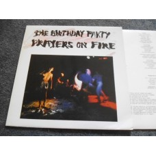 THE BIRTHDAY PARTY - PRAYERS ON FIRE LP - Nr MINT A1/B1 UK PUNK NICK CAVE