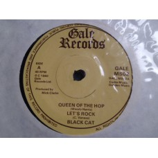 "BLACK CAT - QUEEN OF THE HOP 7"" EP - Nr MINT UK ROCKABILLY ROCK 'N' ROLL"