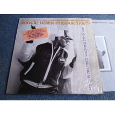BOOGIE DOWN PRODUCTIONS - BY ALL MEANS NECESSARY LP - Nr MINT KRS-ONE RAP HIP HOP 1988