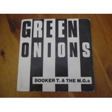 """BOOKER T. AND THE M.G.'s - GREEN ONIONS 7"""" - EXC/VG+ UK MOD STAX"""