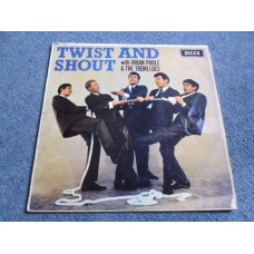 BRIAN POOLE & THE TREMELOES - TWIST AND SHOUT LP - VG UK 1963 MONO