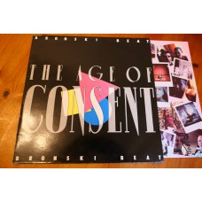 BRONSKI BEAT - THE AGE OF CONSENT LP - Nr MINT A1/B2 UK SYNTHPOP