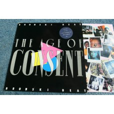 BRONSKI BEAT - THE AGE OF CONSENT LP - Nr MINT A1/B1 UK SYNTHPOP