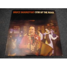BRUCE DAIGREPONT - STIR UP THE ROUX LP - Nr MINT A1/B1 UK  ZYDECO CAJUN WORLD COUNTRY