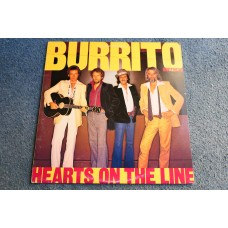 THE FLYING BURRITO BROTHERS - HEARTS ON THE LINE LP - Nr MINT UK  COUNTRY ROCK