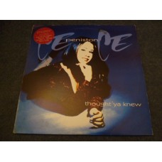CE CE PENISTON - THOUGHT YA KNEW 2LP - Nr MINT A1 HOUSE DANCE