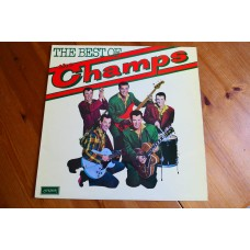 THE CHAMPS - THE BEST OF THE CHAMPS LP - Nr MINT UK TEQUILA