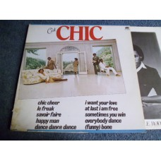 CHIC - C'EST CHIC LP - EXC+ UK DISCO FUNK