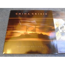 CHINA CRISIS - WHAT PRICE PARADISE LP - Nr MINT A1/B1 POP ELECTRONICA