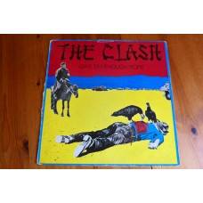 THE CLASH - GIVE 'EM ENOUGH ROPE LP - Nr MINT A1/B1 UK  PUNK STRUMMER