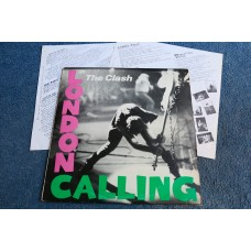 THE CLASH - LONDON CALLING 2LP - EXC+ UK   PUNK STRUMMER