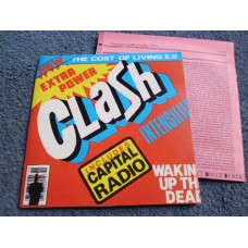 "THE CLASH - THE COST OF LIVING 7"" EP - Nr MINT UK ORIG PUNK STRUMMER I FOUGHT THE LAW"