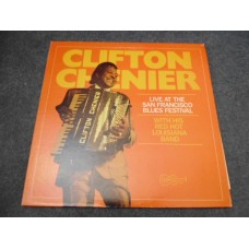 CLIFTON CHENIER - LIVE AT THE SAN FRANCISCO BLUES FESTIVAL LP - Nr MINT A1/B1  BLUES FOLK NEW ORLEANS