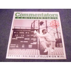 "THE COMMENTATORS - N-N-NINETEEN NOT OUT 12"" - Nr MINT A1/B1 UK RORY BREMNER COMEDY"