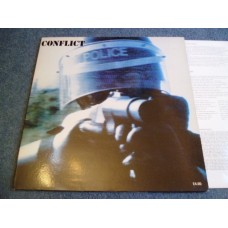 CONFLICT - THE UNGOVERNABLE FORCE LP - Nr MINT ORIG PUNK ANARCHO CRASS
