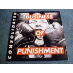 CONSOLIDATED - BUSINESS OF PUNISHMENT 2LP - Nr MINT A1 INDUSTRIAL  HIP HOP INDIE