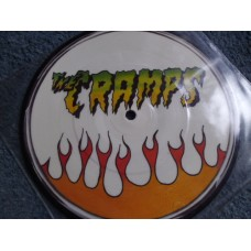 "THE CRAMPS - YOU GOT GOOD TASTE Picture Disc 7"" - Nr MINT"