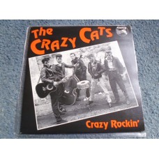 "THE CRAZY CATS - CRAZY ROCKIN' 7"" EP - Nr MINT UK ROCKABILLY ROCK 'N' ROLL"