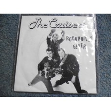 "THE CRUISERS - ROCKABILLY FEVER 7"" - Nr MINT UK"