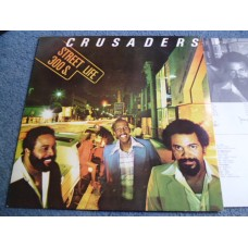 THE CRUSADERS - STREET LIFE LP - Nr MINT A1/B1  FUNK SOUL RANDY CRAWFORD