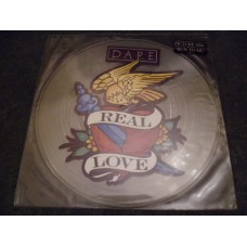 """DARE - REAL LOVE Picture Disc 12"""" - Nr MINT UK 1991"""