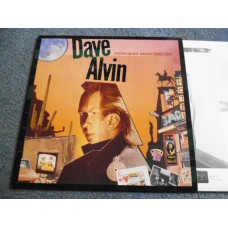 DAVE ALVIN - EVERY NIGHT ABOUT THIS TIME LP - Nr MINT A1/B1 UK ROCKABILLY THE BLASTERS