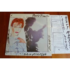 DAVID BOWIE - SCARY MONSTERS LP - Nr MINT A3/B3 UK