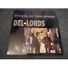 """THE DEL-LORDS - POEM OF THE RIVER 12"""" - Nr MINT UK  GARAGE ROCK"""